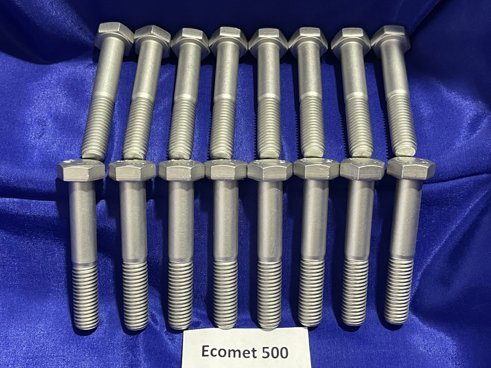 ecomet-500-coated-bolts